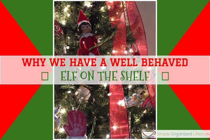 well behaved elf on the shelf
