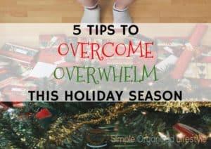 Overcome Overwhelm