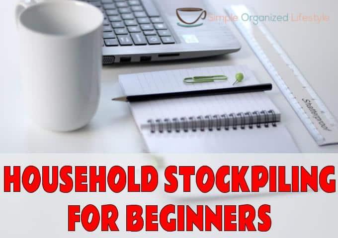 Household Stockpiling System For Beginners