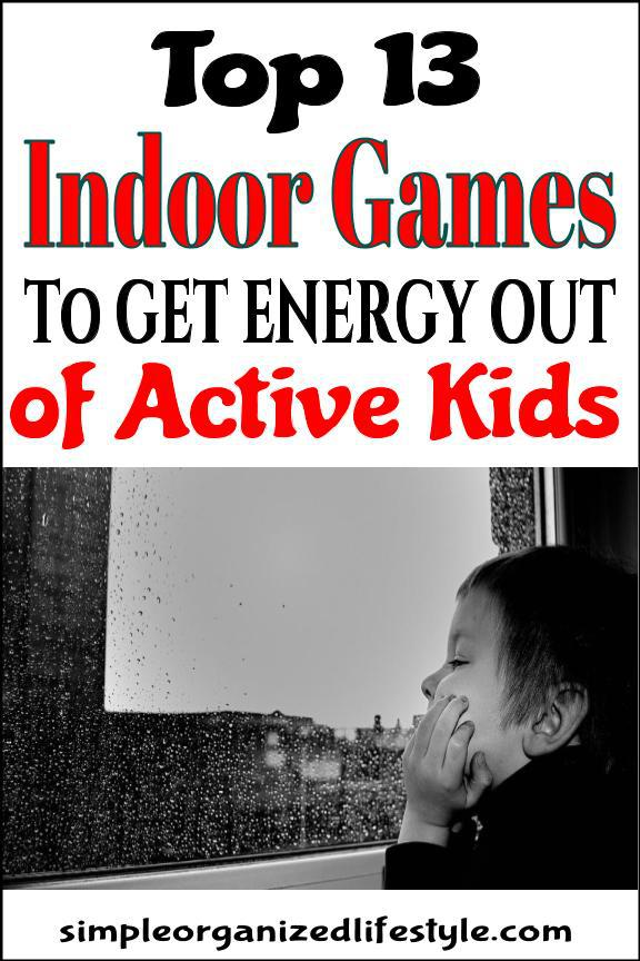Fun indoor games to play at home