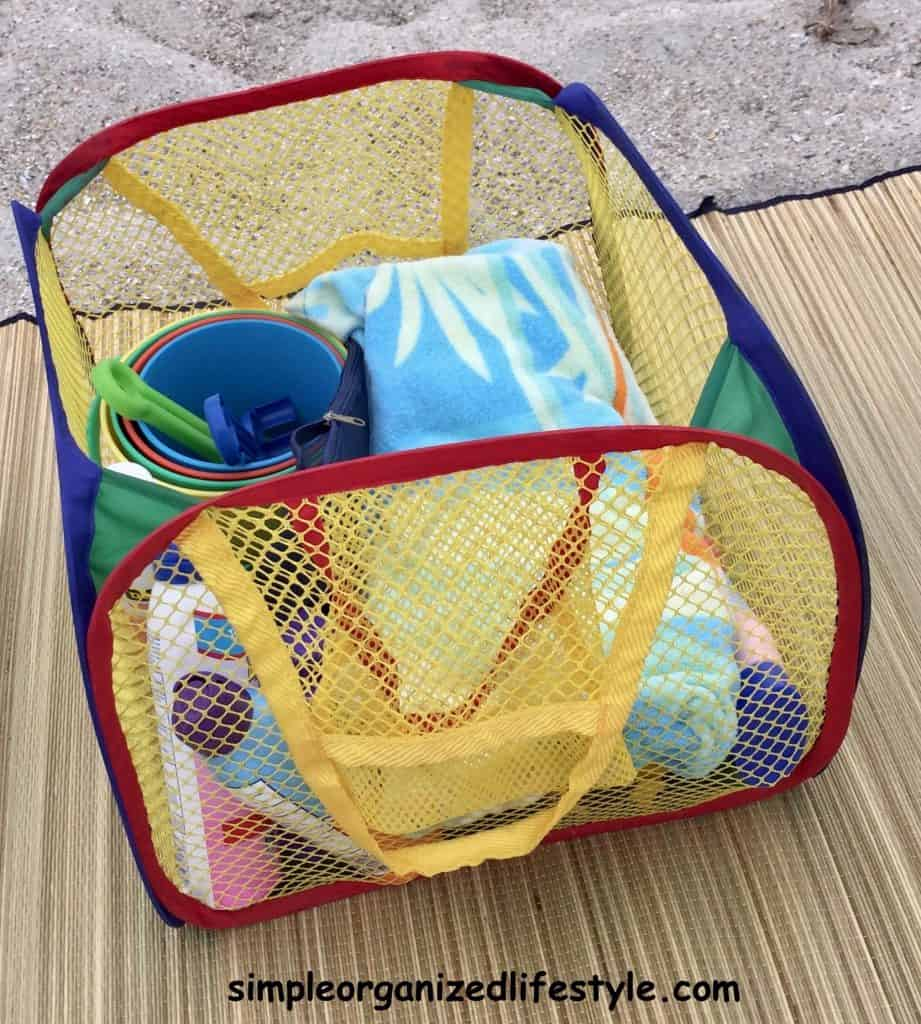mesh bag for sand toys