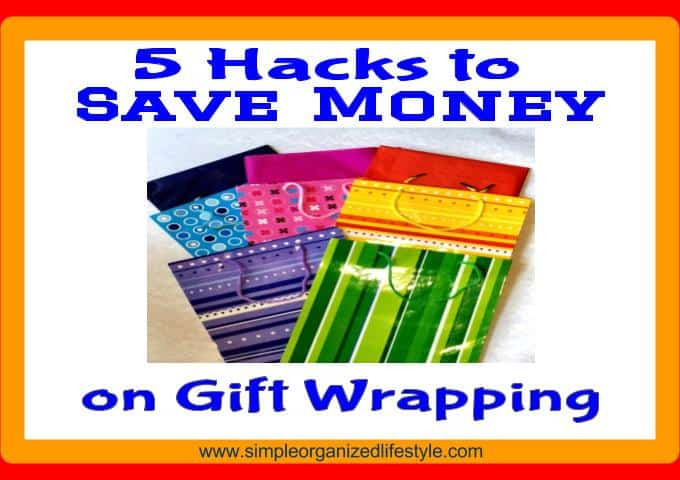 5 hacks to save money on gift wrapping supplies