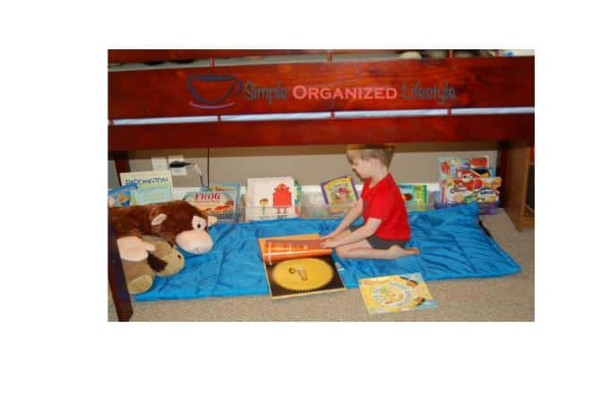 Bed Nook Book Nook for Toddlers and Kids