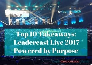 Leadercast Live 2017 Conference