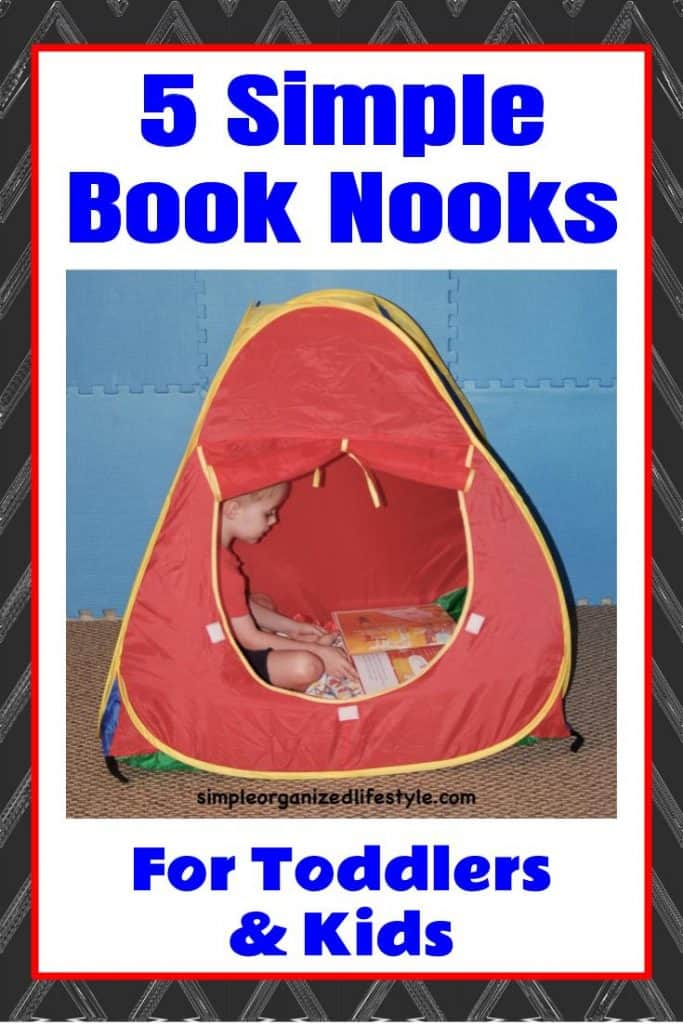 5 Simple Book Nook Ideas for Toddlers & Kids