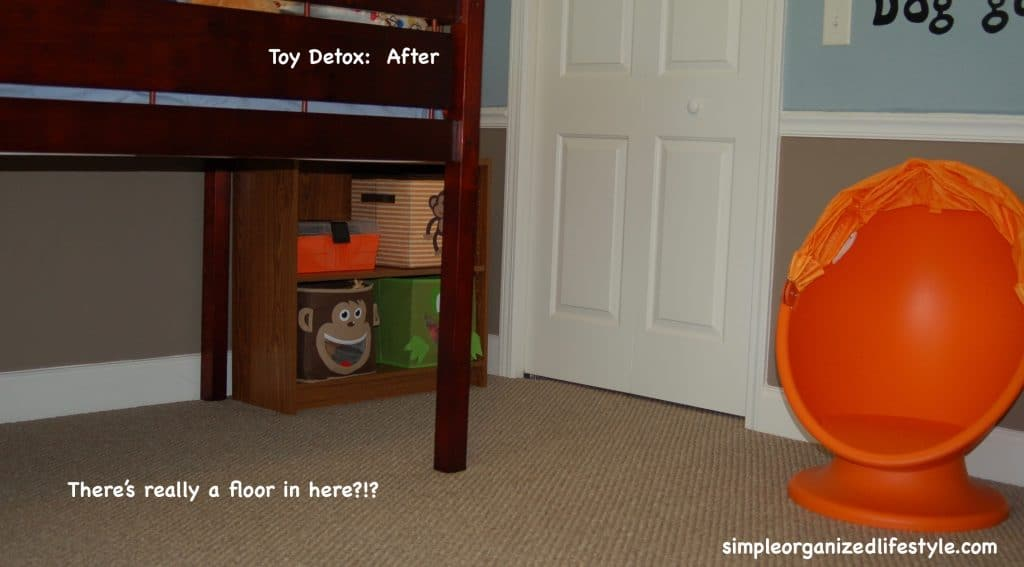 Toy Decluttering After- 2