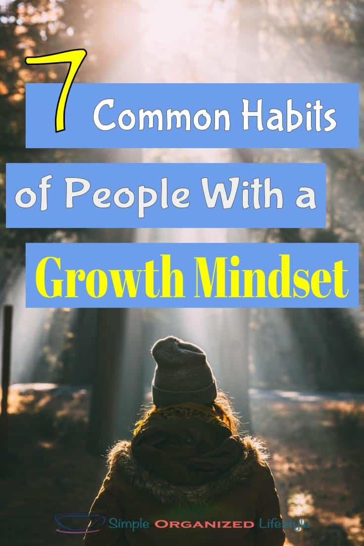 7 Common Habits of People with a Growth Mindset