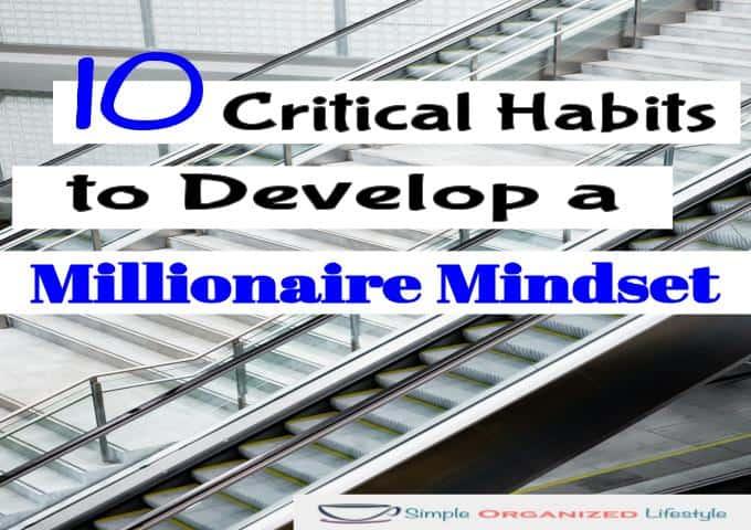 Habits to Develop a Millionaire Mindset