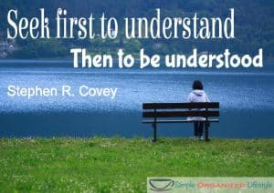 Seek First to Understand Covey Quote