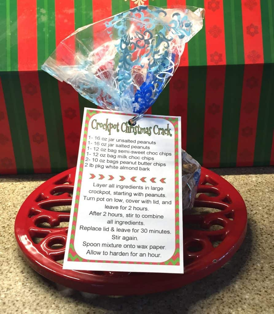 Christmas Crack Recipe Gift Tag