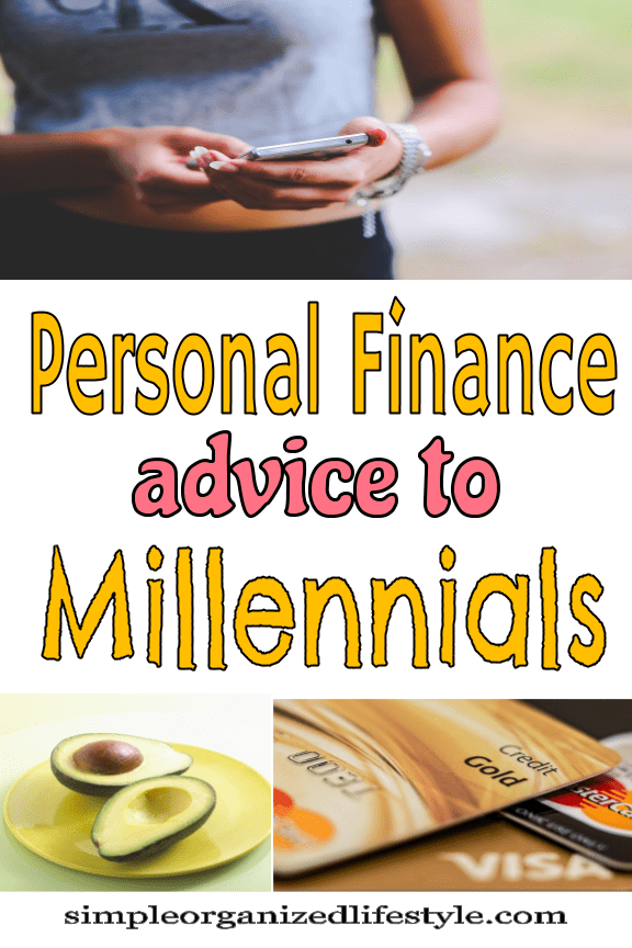 Personal Finance Advice to Millennials