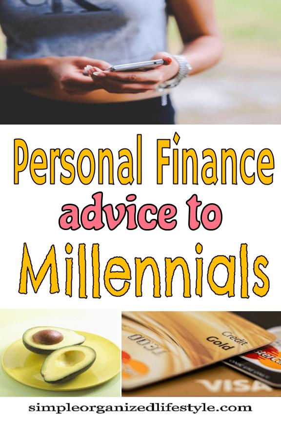 Personal Finance Advice to Millennials