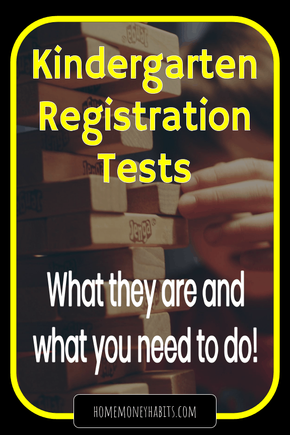 Kindergarten Entrance Tests pdf