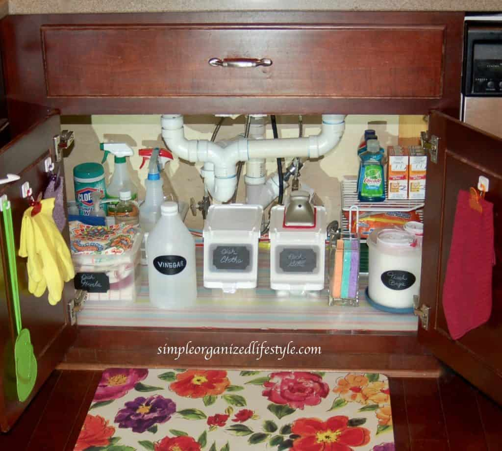 Under the Kitchen Sink Organizer