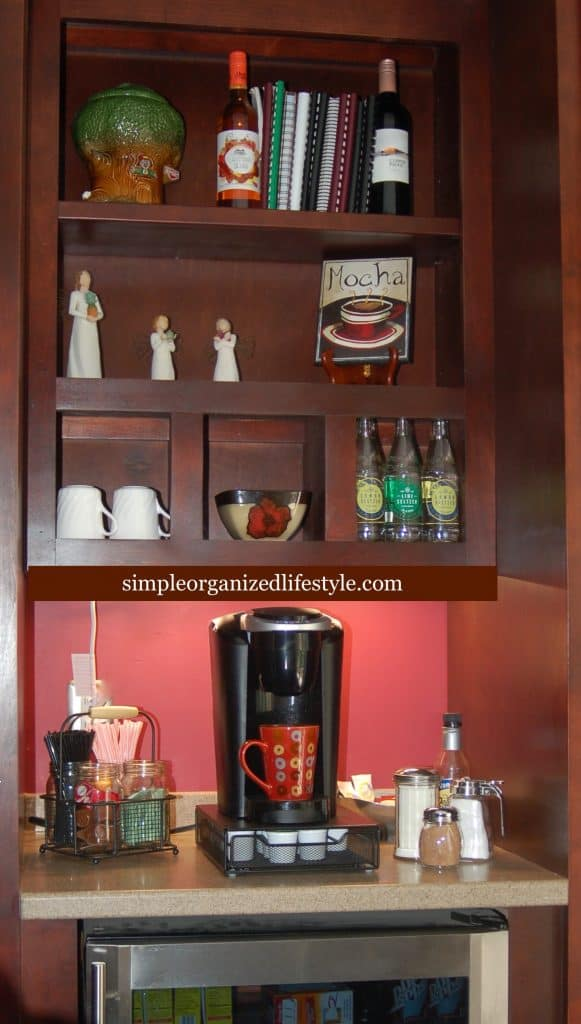 Kitchen Coffee Bar Cabinets