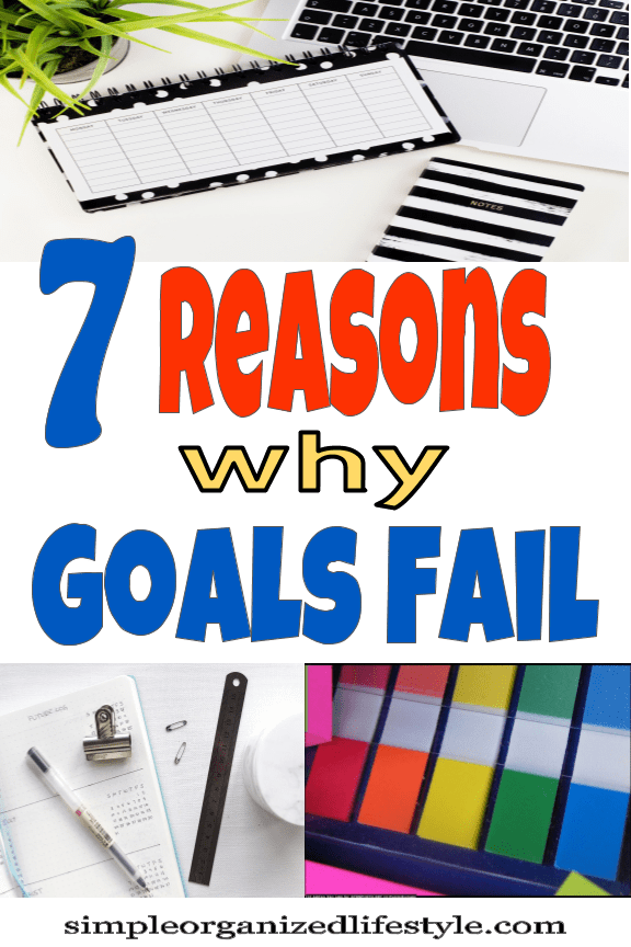 Reasons Why Goals Fail