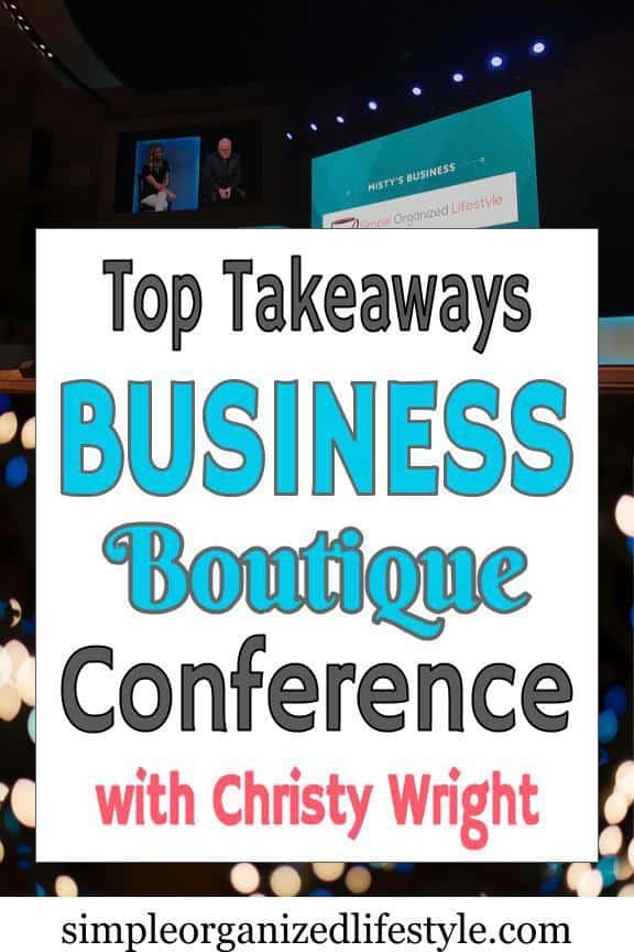 Business Boutique Conference Q & A