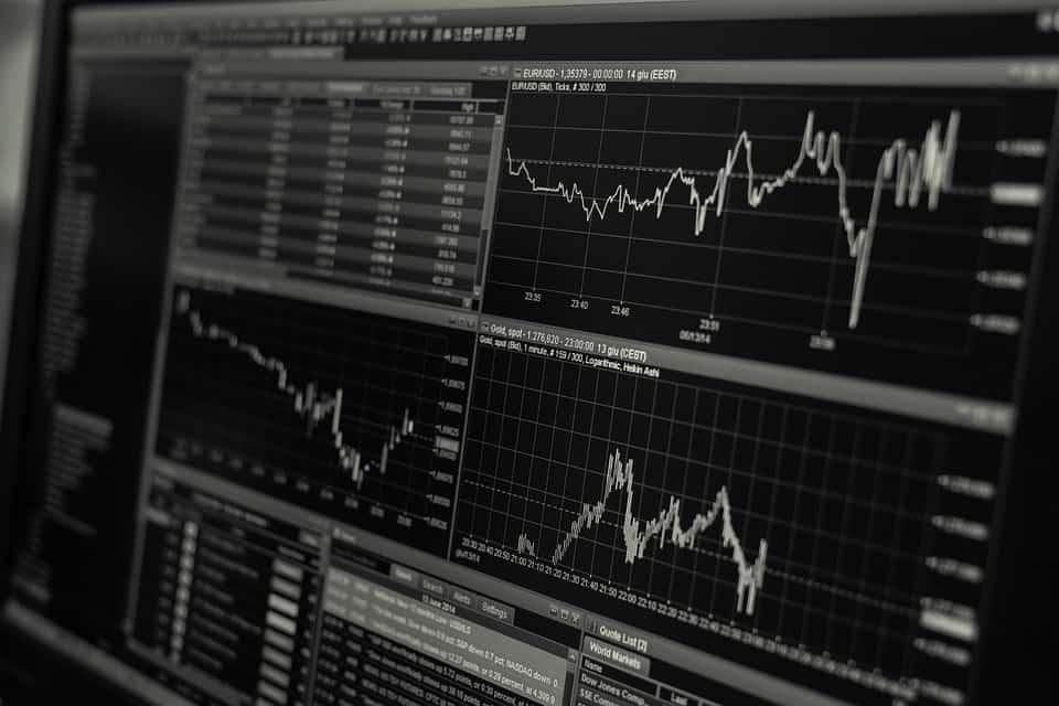 Stock Exchange Computer Screen