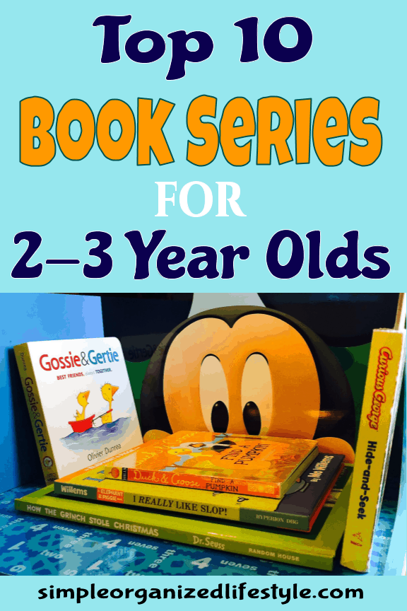 Top 10 Book Series for Toddlers