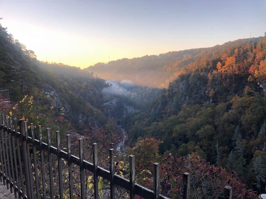 Sunrise over the Gorge
