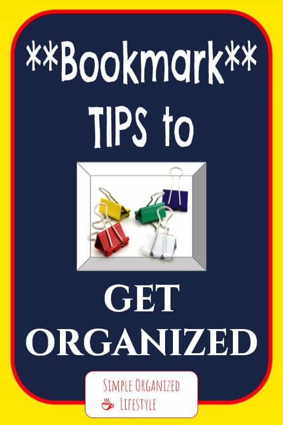 Get organized board
