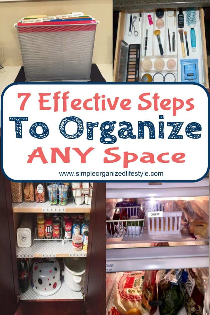Effective Steps to Organize Any Space in Your Home