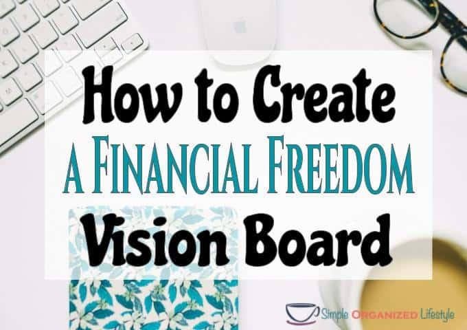 Financial Freedom Vision Board