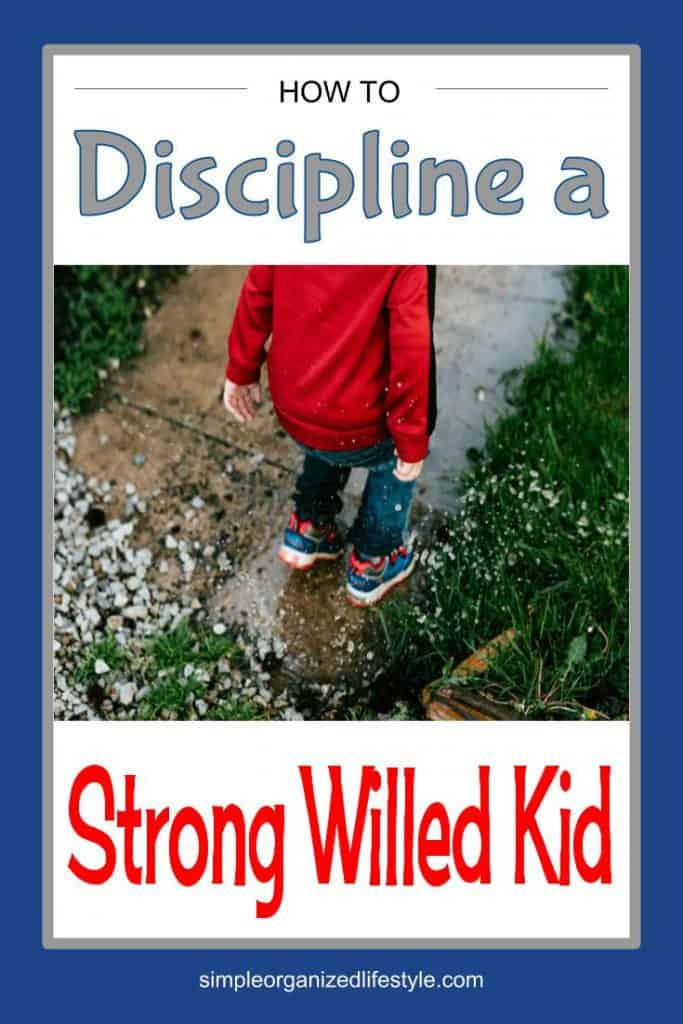 How to discipline a strong willed kid