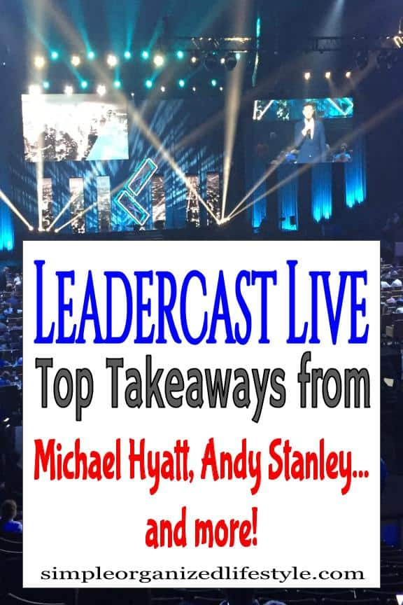 Leadercast Live Conference