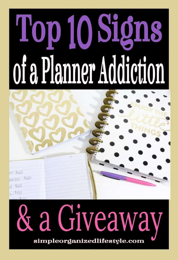 Planner Addiction Post & Giveaway
