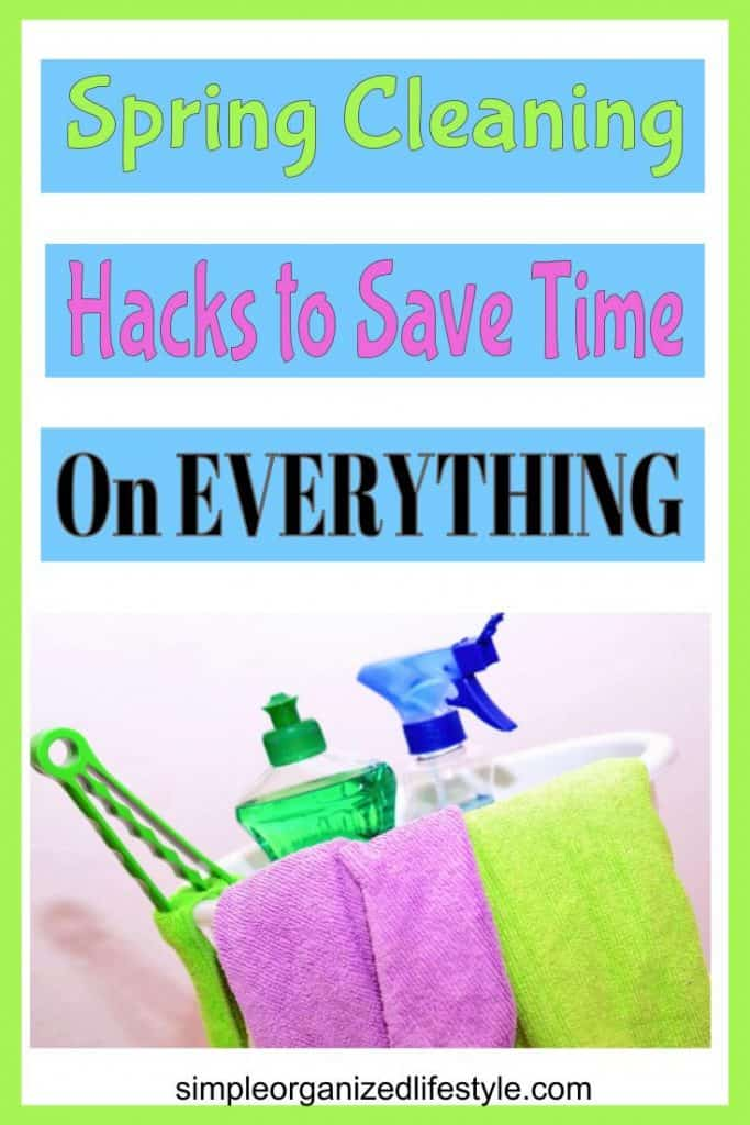 Spring Cleaning Hacks Save Time