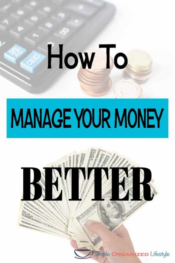 Ways to Manage Your Money Better
